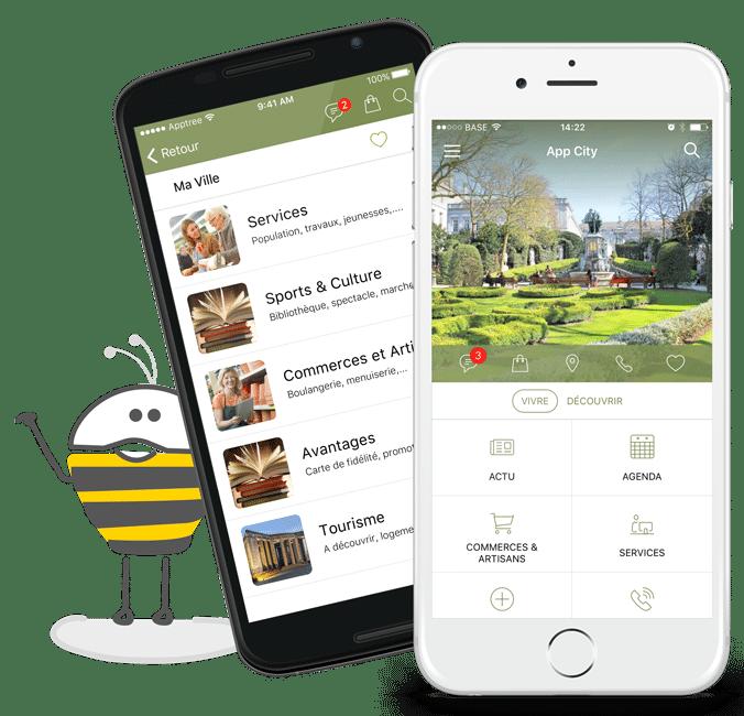 application-évènement-apptree