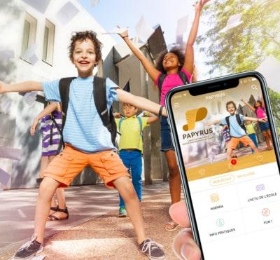Papyrus applications mobile pour écoles